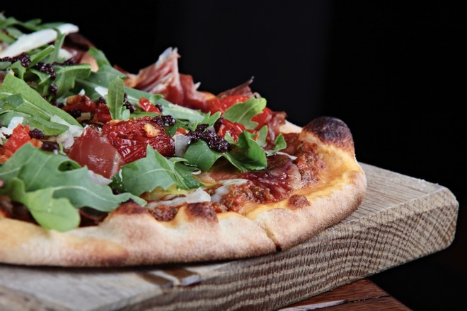 Pizza im KOA Palma