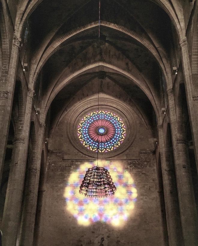 Magische Acht in der Kathedrale La Seu