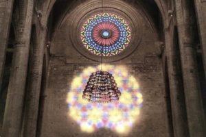 magische Acht in der Kathedrale von Mallorca