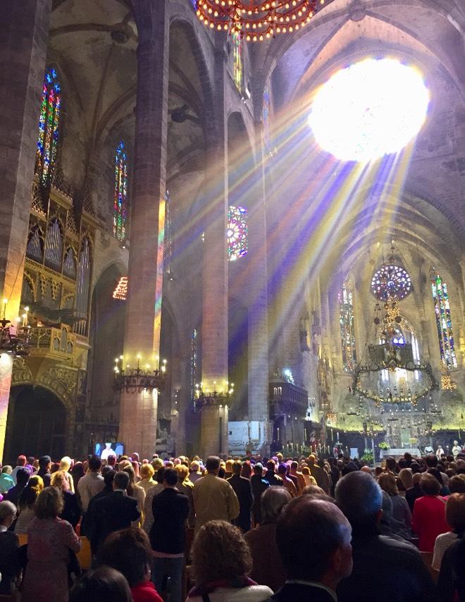 Ostergottesdienst in der Catedral de Mallorca