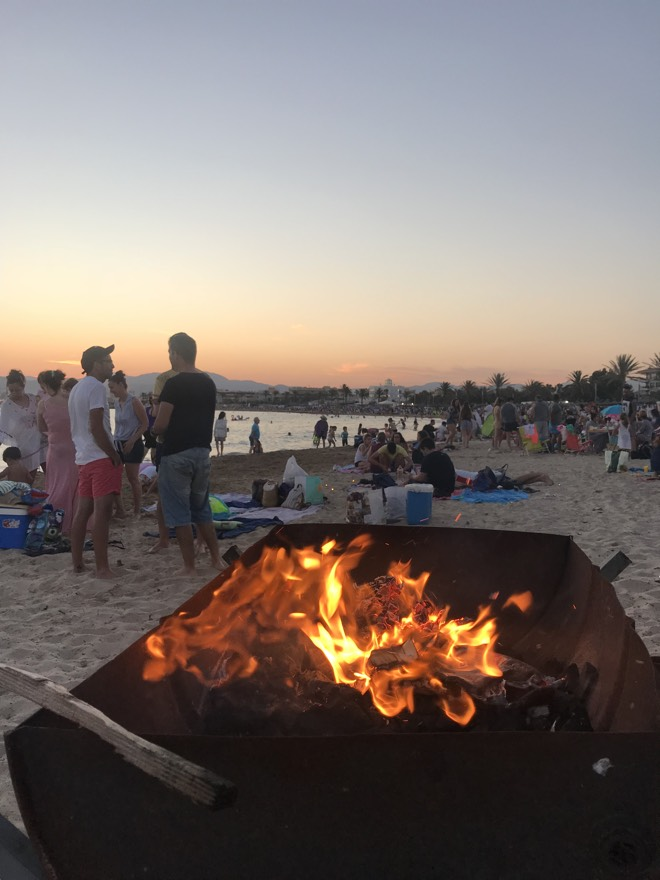 Mallorca Urlaub 2019 Nit de San Juan