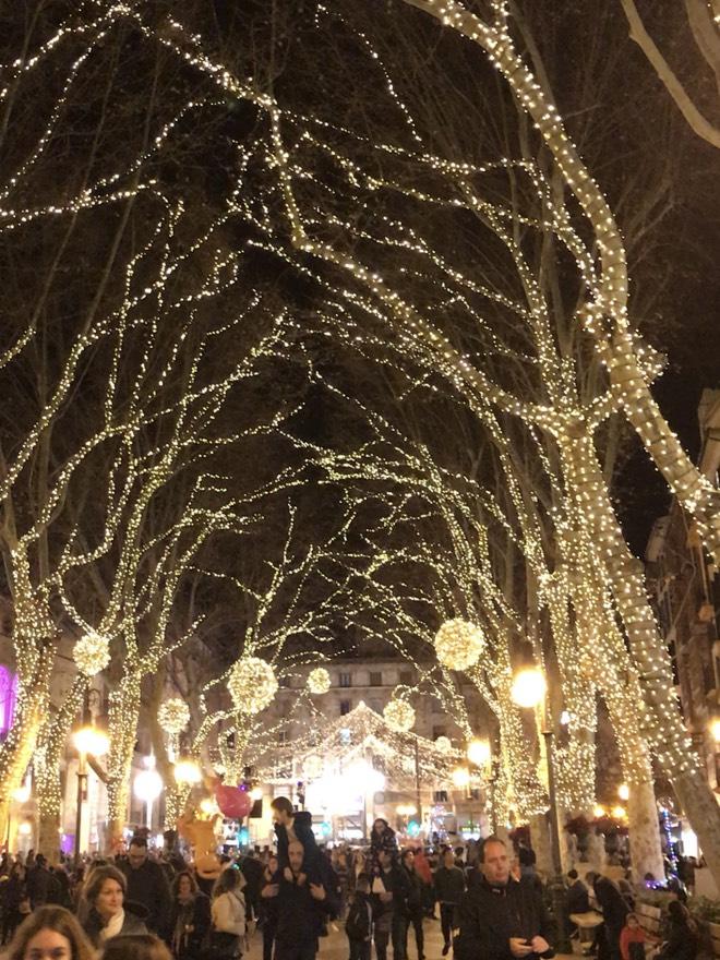 Weihnachtsstimmung in Palma de Mallorca