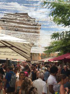 Markt in Santanyi auf Mallorca