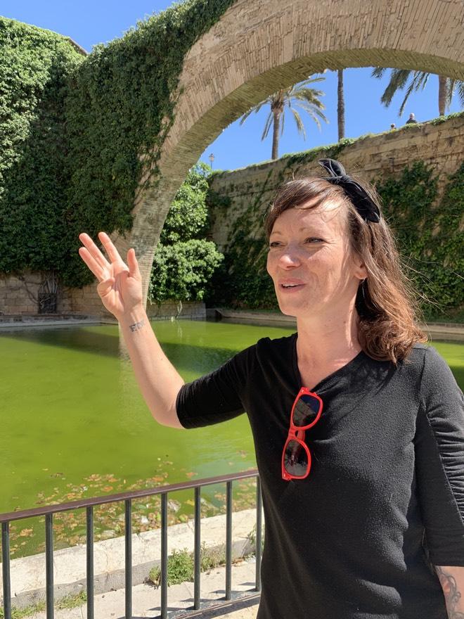 Sylvia von Mindful Mallorca