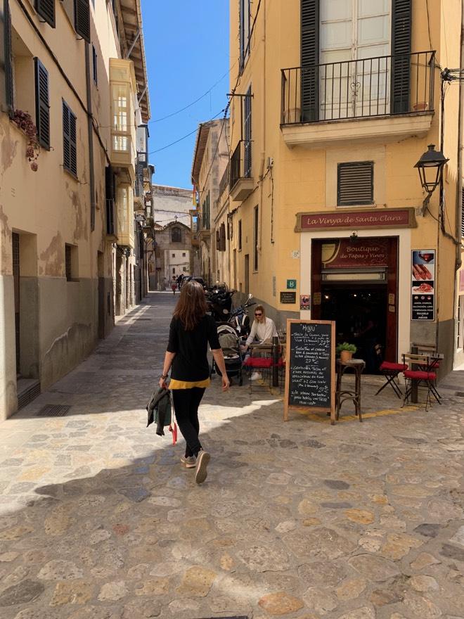 Achtsamer Spaziergang durch Palma mi Mindful Mallorca