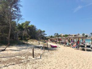 Chillen an der Playa de Marques