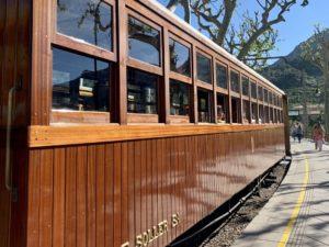 Fahrt mit dem Tren de Soller