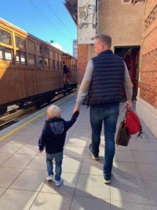 Unterwegs mit dem Tren de Soller