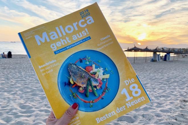 Verlosung des Gastronomie-Guides MALLORCA GEHT AUS 2019/2020