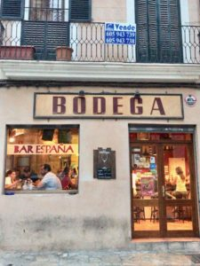 Bar Espana in Palma de Mallorca
