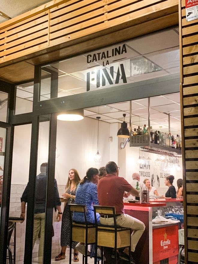 Catalina La Fina in Santa Calatina