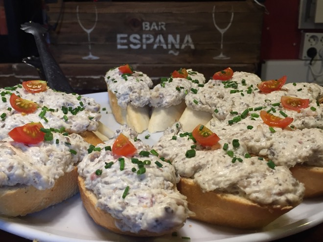 Tapas in der Bar España