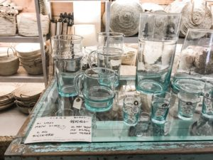 Glaswaren bei Can Garanya in Manacor