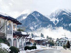 Ausblick vom Hotel Sonnhof Alpendorf