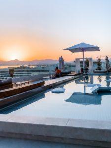 Mallorca-Urlaub 2020 Rooftop Bar Katagi Blau