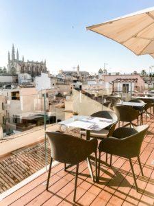 Mallorca Urlaub 2020 Rooftop Bar Hotel Es Princep Palma