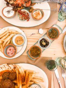 Speisen im Muare Cantina Mediterranea