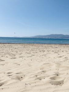 Leere Strände zu Zeiten von Corona auf Mallorca