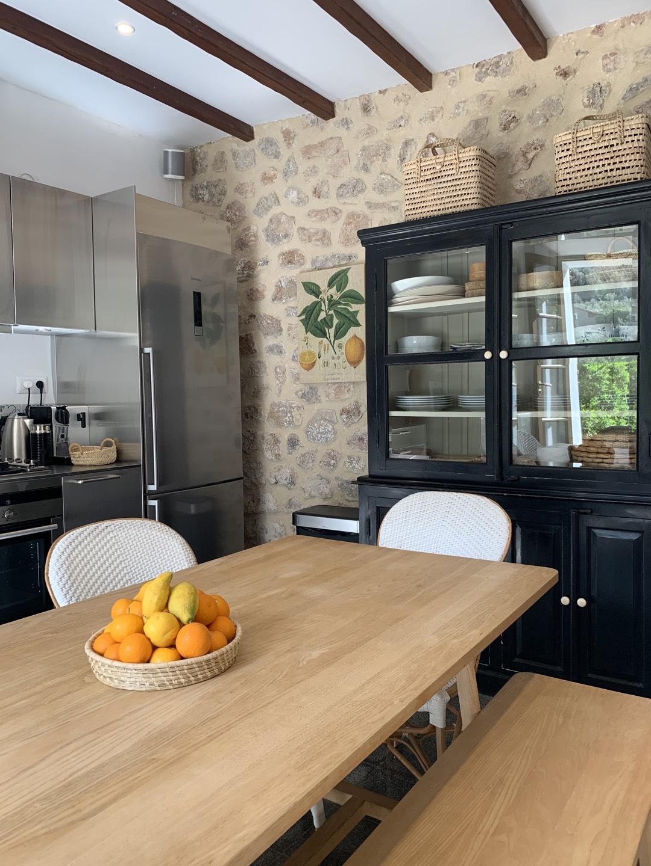 Küche in Sa Cova