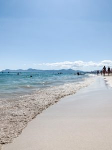 Slow Travel auf Mallorca Strand