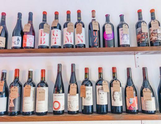Naturweine in der Bar La Sang in Palma de Mallorca