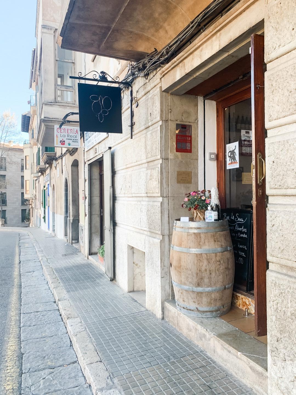 Bar La Sang Lundgren Wines Palma