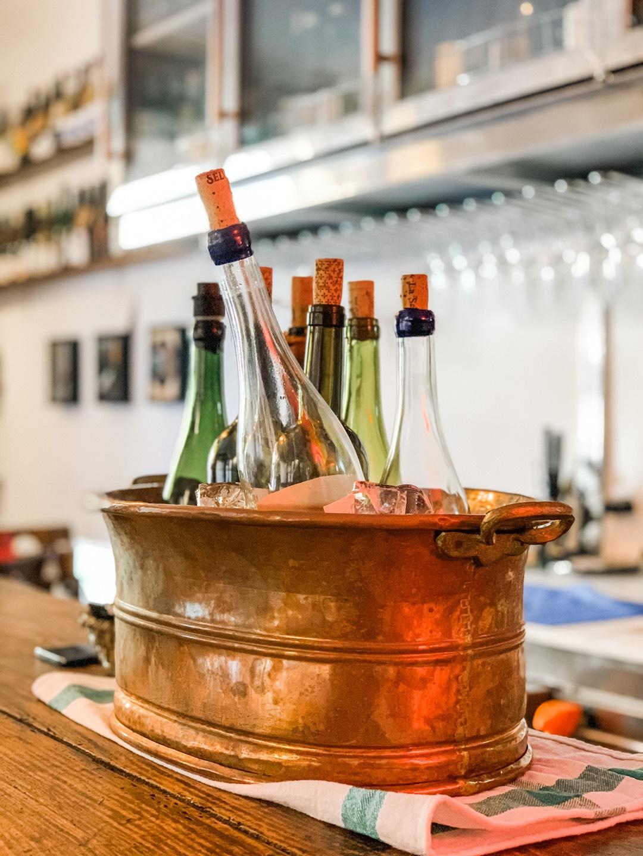 Naturweine in der Bar La Sang auf Mallorca