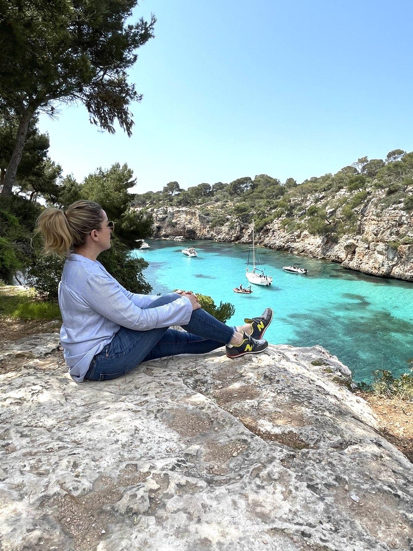 Unglaubliche Ausblicke in der Cala Pi auf Mallorca