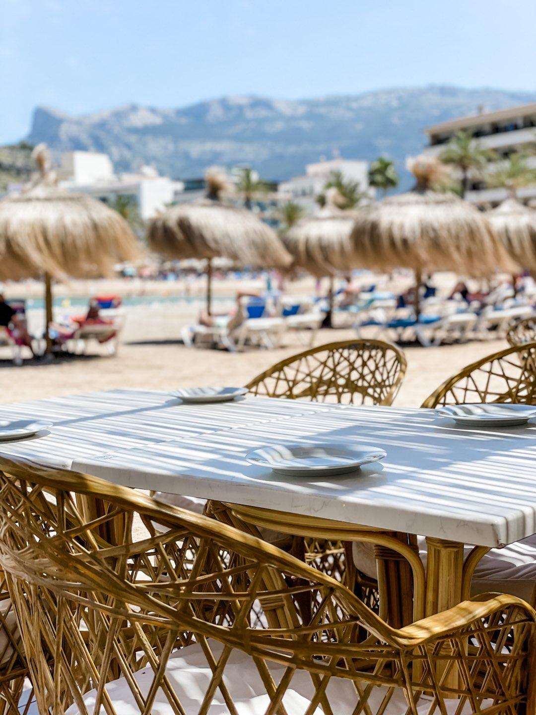 Das Aptiki Beach in Port de Soller auf Mallorca
