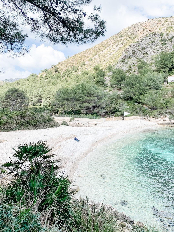 Einsame Traumbucht Cala Murta auf Mallorca