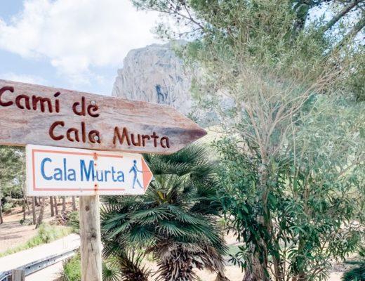 Wanderung zur Traumbucht Cala Murta auf Mallorca