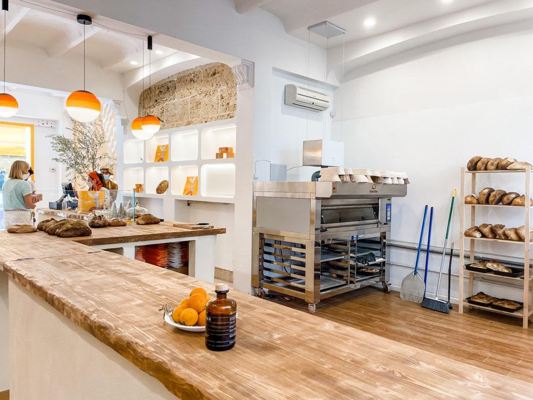 Die Backstube der Uco Bakery Palma auf Mallorca