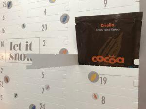 Adventskalender mit Bio-Kakao