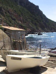 Fischerboote in Port de Valdemossa