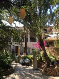 Der Garten des Living Dreams in Santa Maria del Carmi