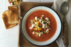 Rezept für Gazpacho aus dem Prep and Cook