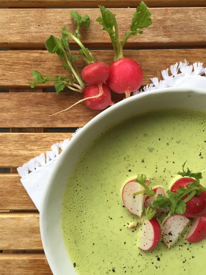 Rezept für Radieschensuppe
