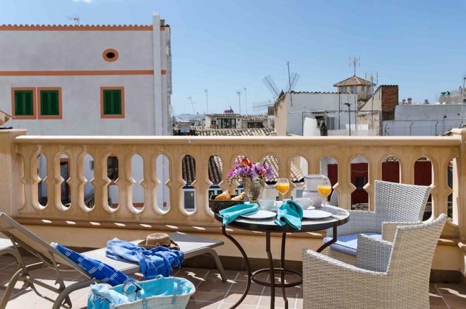 Blick vom STAY CATALINA in Santa Catalina, Mallorca